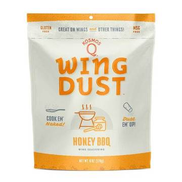 Kosmos Q Honey BBQ Wing Dust - Full Throttle Barbeque