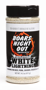 Boars Night Out White Lightning - Full Throttle Barbeque