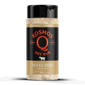Kosmos Q Texas Beef Rub - Full Throttle Barbeque