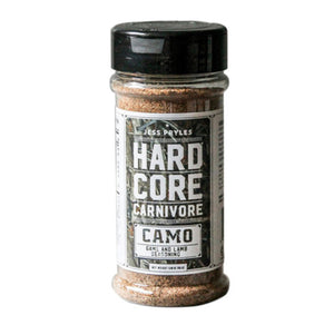 Hardcore Carnivore Camo Rub 297g - Full Throttle Barbeque