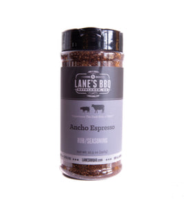 Lanes Ancho Espresso Rub Large - Full Throttle Barbeque