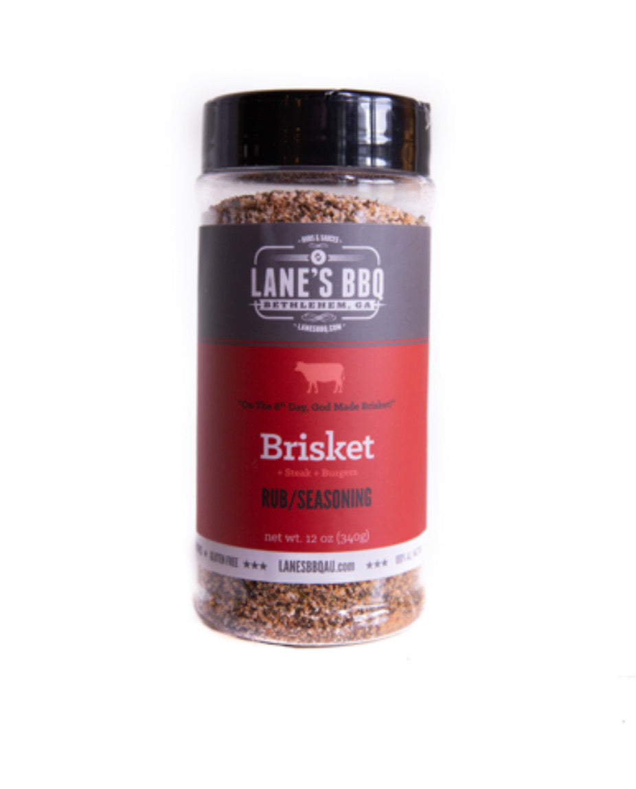 Lanes Brisket Rub Large - Full Throttle Barbeque