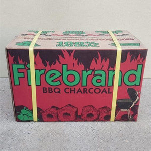 Firebrand Premium Briquette 10kg - Full Throttle Barbeque