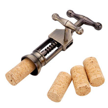 Load image into Gallery viewer, Professional Crank Operated Corkscrew Wine Opener