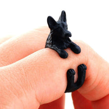 Load image into Gallery viewer, Lovable German Shepherd Ring