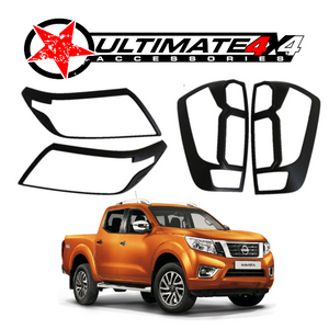 HEAD LIGHT & TAIL LIGHT COVERS COMBO for NISSAN NAVARA NP300 2015+