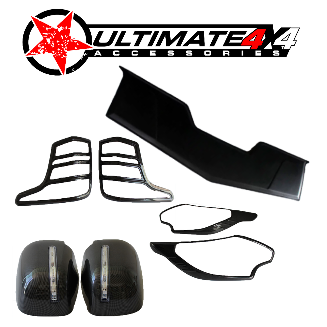 Cosmetic Black Out Kits | MITSUBISHI TRITON 2015-18