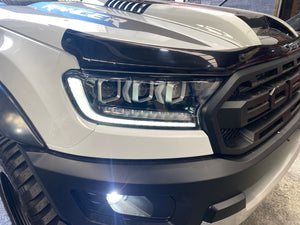 Bugatti style Sequential turn signal T7 headlight for FORD RANGER