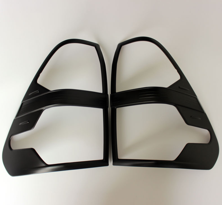Tail Light Covers for TOYOTA HILUX 2015+ (Black colour)