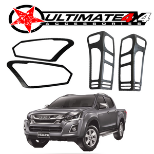 Head Light & Tail Light Cover Combo | ISUZU D-MAX 2016-17