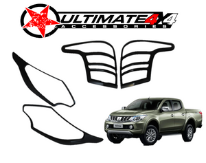 Head Light & Tail Light Cover Combo | MITSUBISHI TRITON 2015-18