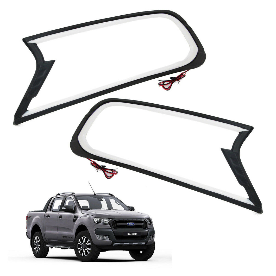 Head Light Covers | FORD RANGER PX2 & PX3 2015+ (w/ LED)
