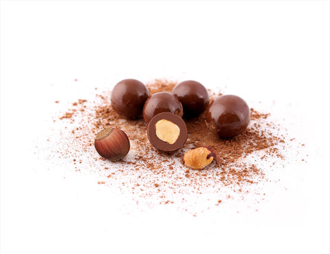 Dragee Nut lee chocolate