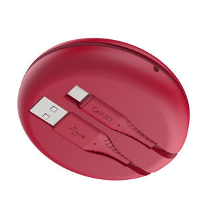 Halo usb a to usb-c cable 1.2M carmine red