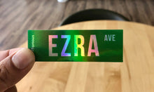 Load image into Gallery viewer, Ezra Ave Holographic Sticker