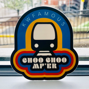 Choo Choo MF'er Sticker