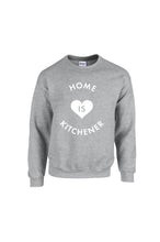 Load image into Gallery viewer, Home is Kitchener Crew Neck - Grey