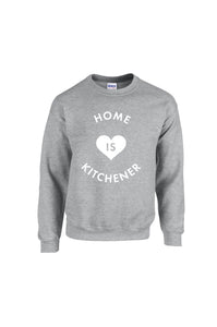 Home is Kitchener Crew Neck - Grey