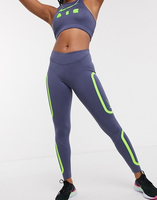 Running Future Air Leggings In Blue