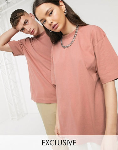 Unisex T-Shirt In Brown