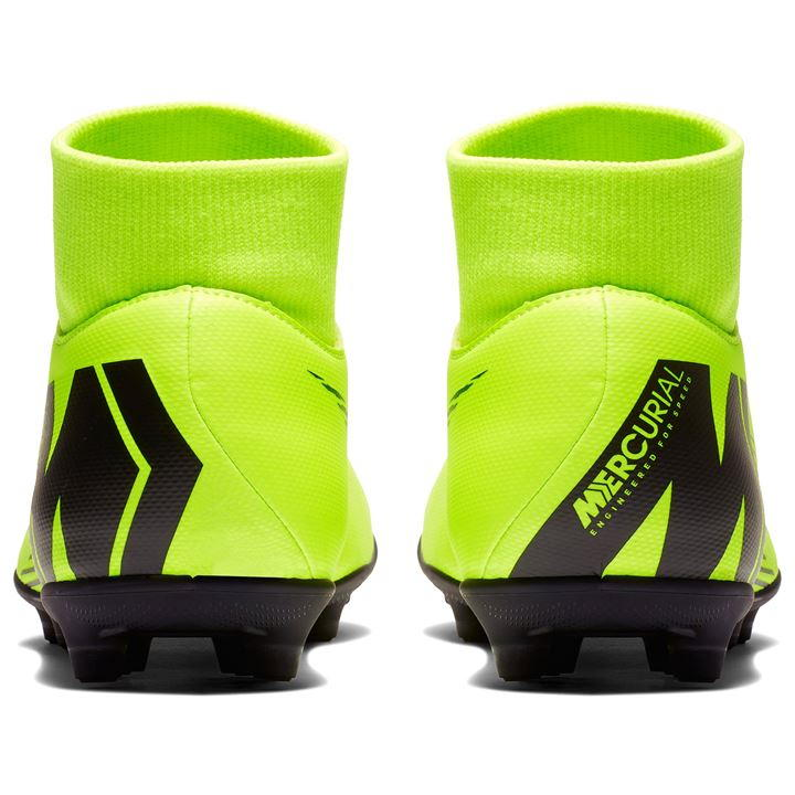 Mercurial Superfly Club DF Volt/Black Men's FG Football Boots