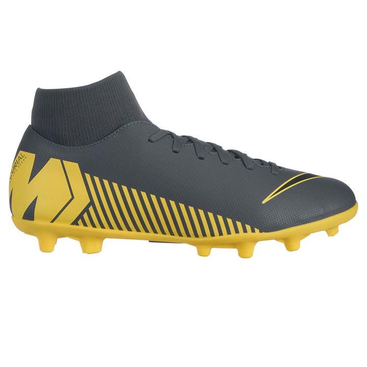 Mercurial Superfly Club DF Grey/Yellow Men's FG Football Boots