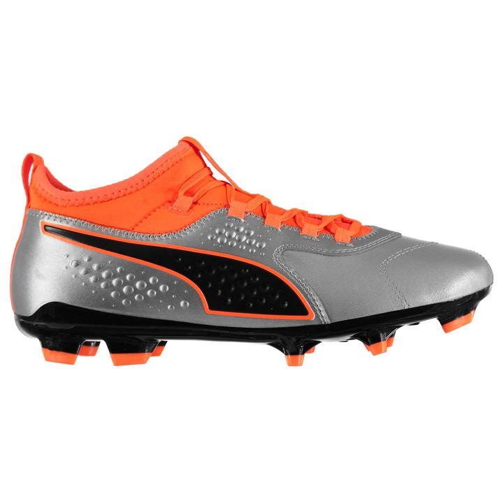 Puma ONE 3 Men's Orange/Black FG Football Boots