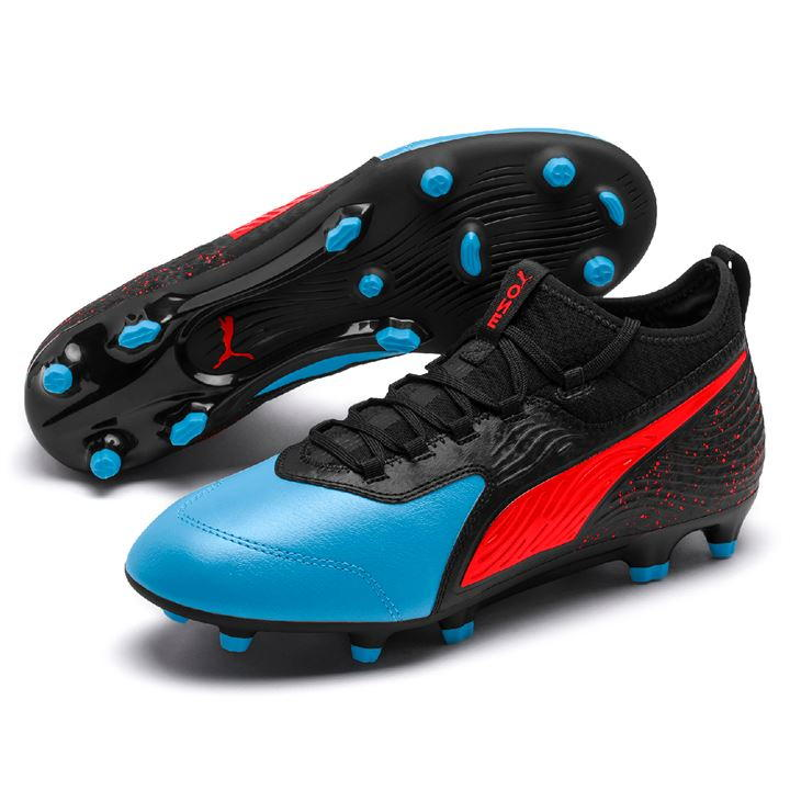 Puma One 19.3 Blue/Red/Black Men's FG Football Boots