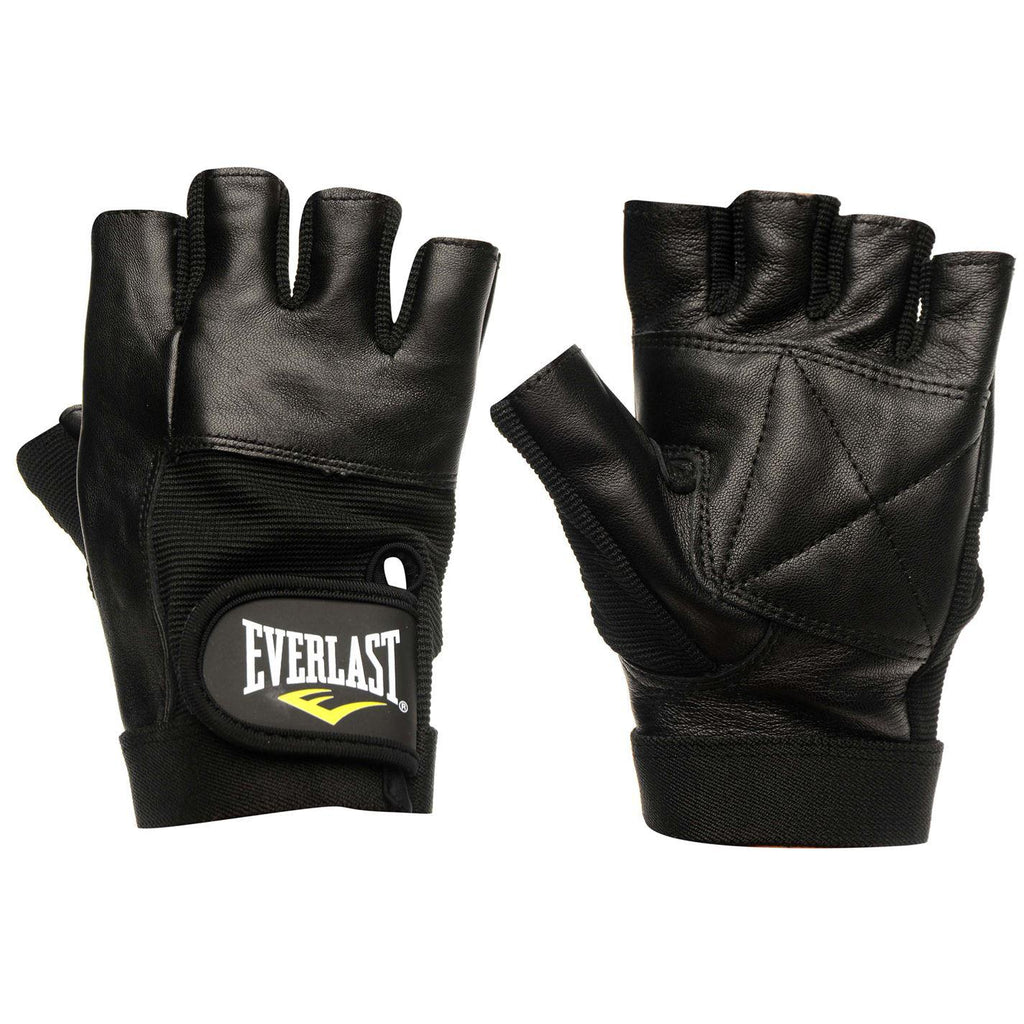 EVERLAST Leather Fitness Gloves