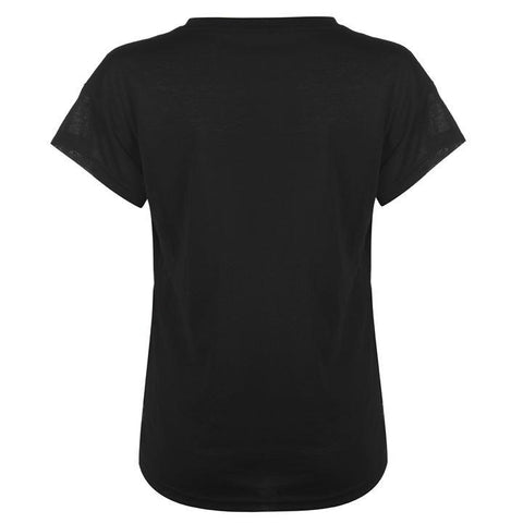 Black/White Urban Sports Women T-Shirt