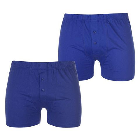 Navy/Blue Men Boxers 2 Pack