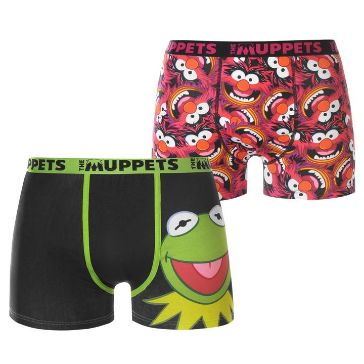Muppets Men Boxers 2 Pack