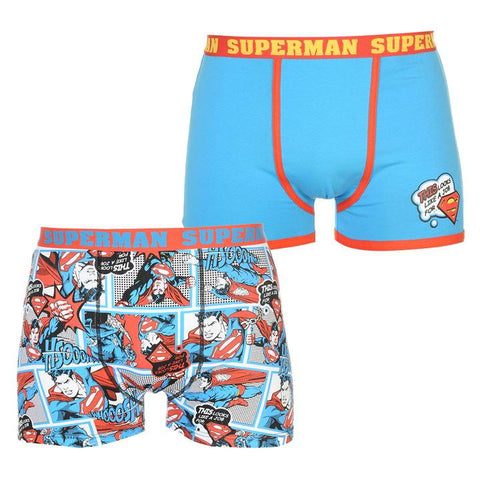 Superman Men Boxers 2 Pack