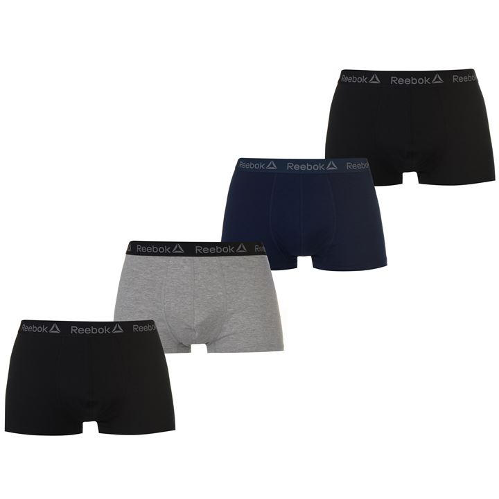Reebok 4 Pack Nilson Men's Trunks