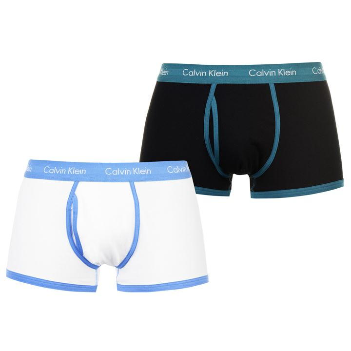 Blue/Turquoise Men Trunks 2 Pack