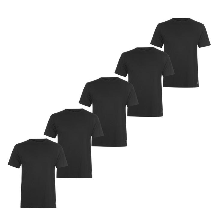 Reebok Pack of 5 T Men's T-Shirts