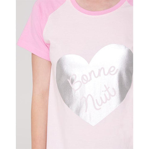 Pink Nuit Fun Nightdress