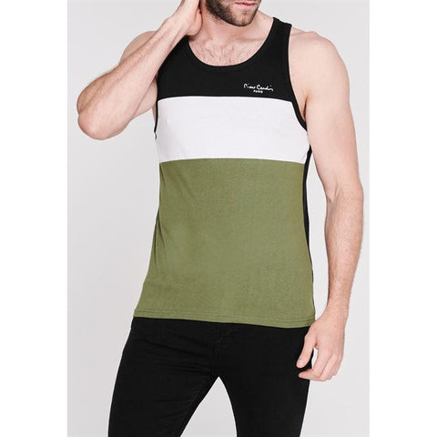 Cut and Sew Vest Mens