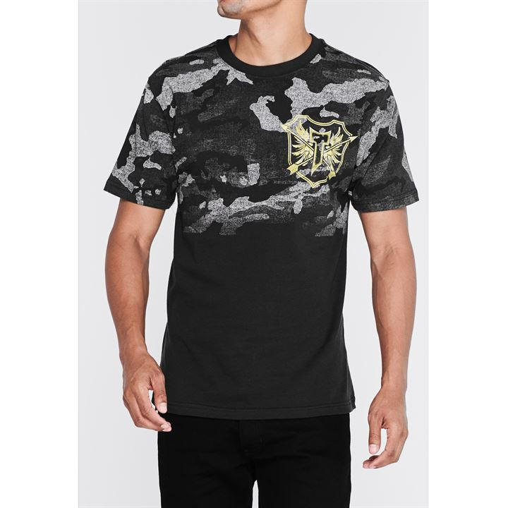 Lifestyle Camo T Shirt Mens