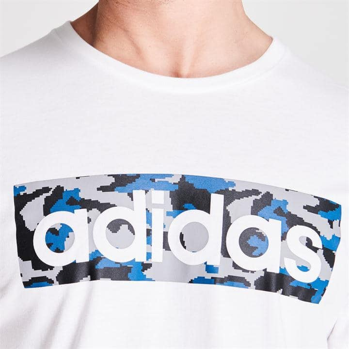 Camo Logo Men T-Shirt