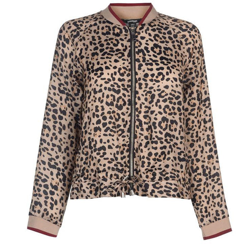 Fashion Lea Print Women Jacket