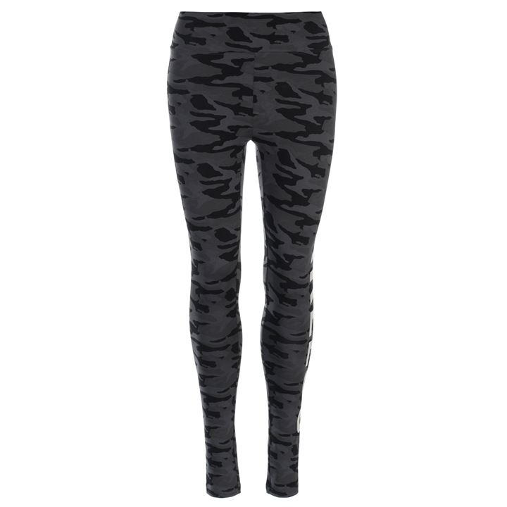 Black Camo Fear Leggings