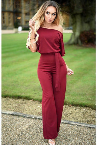 JUDITH BATWING JUMPSUIT