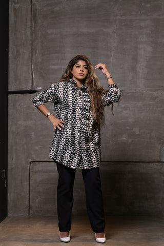 1002 Collection Printed Shirt