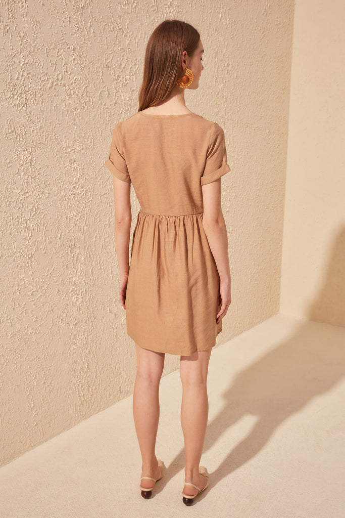 Trendyol Button Detail Dress