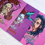 Dr. Jekyll & Ms. Hyde Mini Canvas Prints