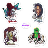 Black Monsters 4-Sticker Pack