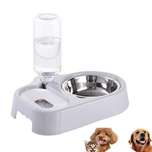 Design Food Feeder and Water Dispenser,Cats&Dogs