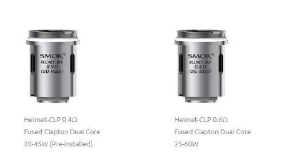SMOK HELMET - CLP Fused Clapton Dual Core Coils 0,4/0,6 Ohm - 5 Stück / Packung
