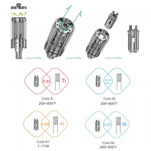 Rofvape Witcher Tank Atomizer (Verdampfer)Verdampfer - 5,5ml